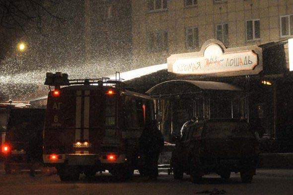 Клуб «Хромая лошадь» в Перми