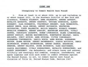 Фамилии подозреваемых в материалах дела, указанные следователем Джереми Робертсоном