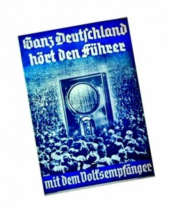 Вся Германия слышит фюрера