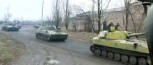 Боевики разбили колонну ВС РФ