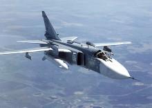 Падение российского бомбардировщика Су-24