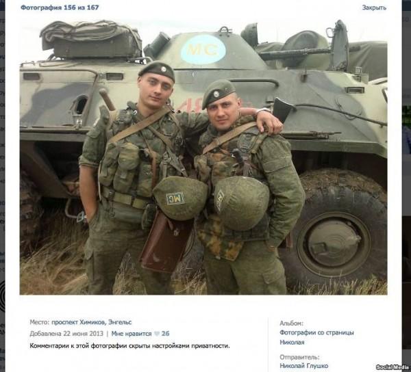 Потом этот же БТР где-то всплывает в Украине