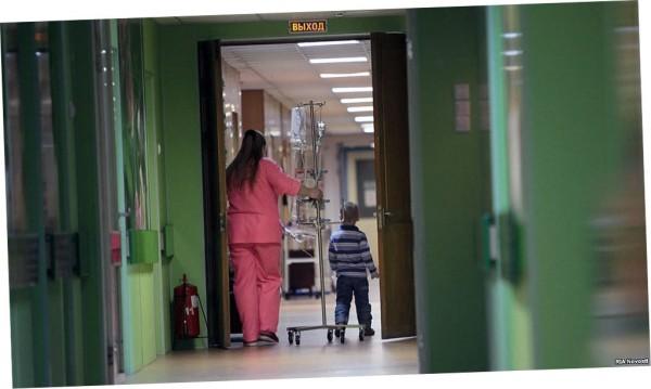 В одной из детских онкологических