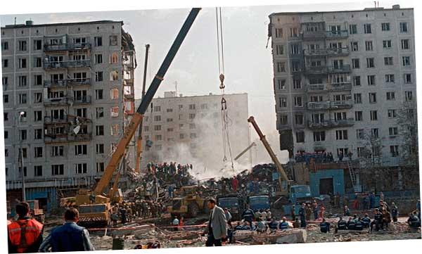 Взрывы домов в 1999 г и убийства в середине нулевых