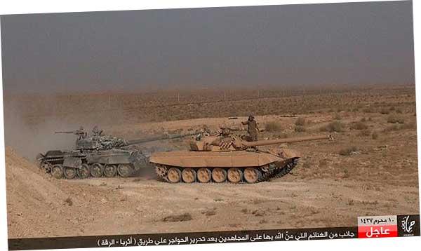 несколько танков