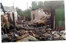 Боевики накрыли Горловку минами