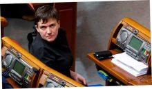 Интересное фото с Савченко