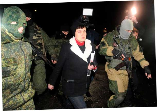 гуляет по Донецку