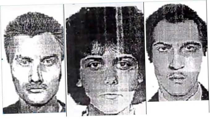 три подозрительных личности