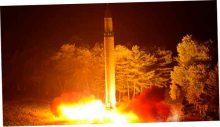 Ракета КНДР пролетела над Японией