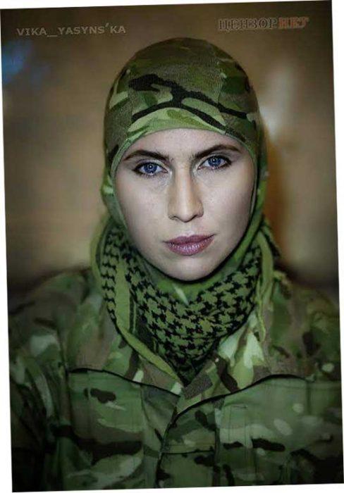Народный герой Украины Окуева Амина
