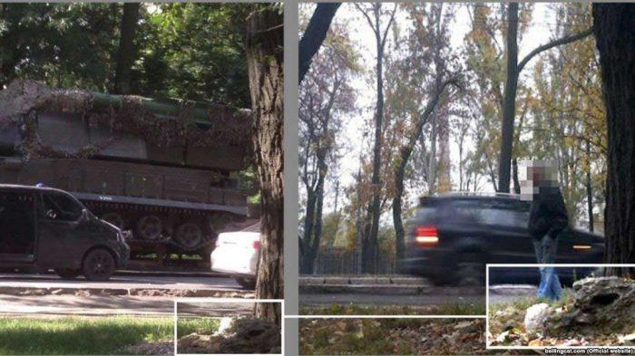 новая фотография российской ракетно-зенитной установки «Бук»