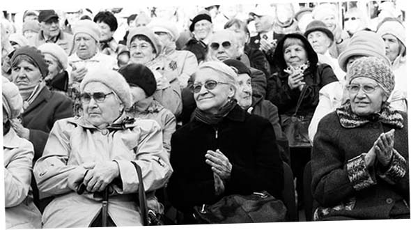 Пенсионеры-маразматики