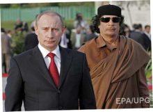 Путина ждет судьба Каддафи