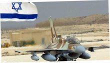 Израильские ВВС нанесли серию ударов