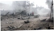 Путин и Асад продолжили авиаудары