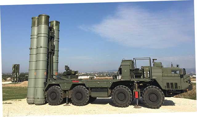 ЗРС С-400 «Триумф».