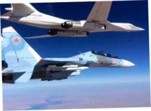 Из-за полетов российских бомбардировщиков