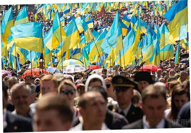 С Крестного хода в Украине