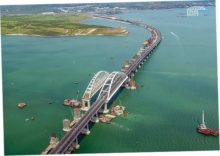 Из-за строительства моста в Крым