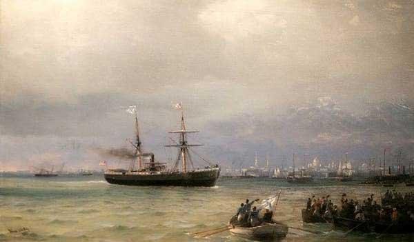 Первые транспортные корабли Indiana и Missouri