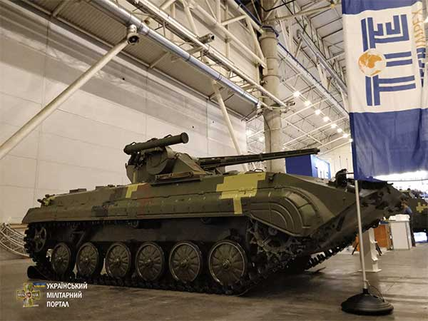 Две выставки вооружений