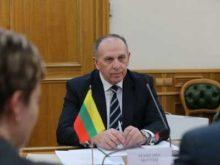 Литва отозвала посла из России