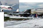 Thumbnail for the post titled: SSJ-100 c поврежденным стеклом