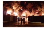 Thumbnail for the post titled: Пожар на строительном складе