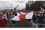Thumbnail for the post titled: След России в беларуских протестах