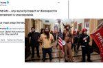 Thumbnail for the post titled: Захват Капитолия в США